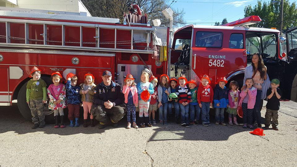 Fire House Field Trip May 30th, 2018